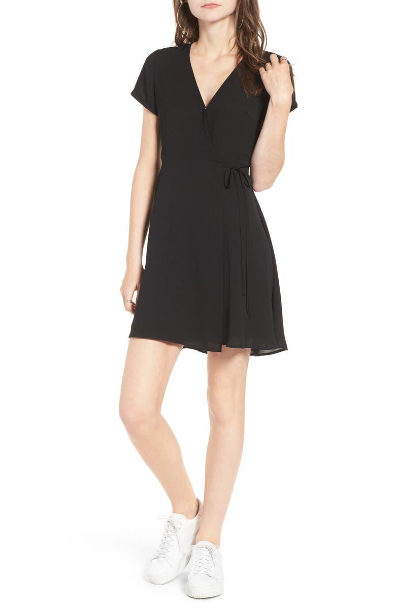 --- Olivia Wrap Dress, Main, color, 001