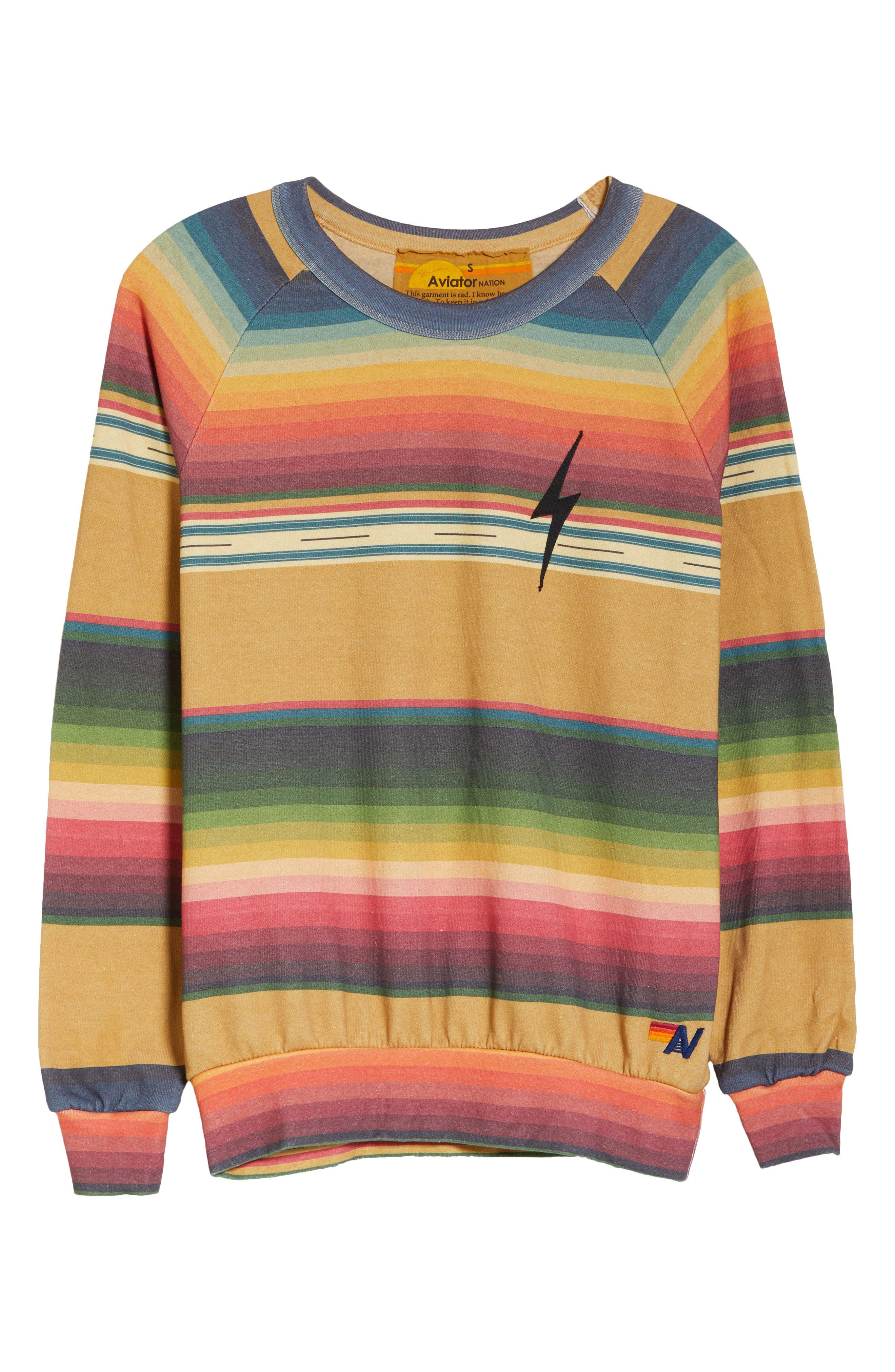 Women's Serape Bolt Stitch Sweatshirt