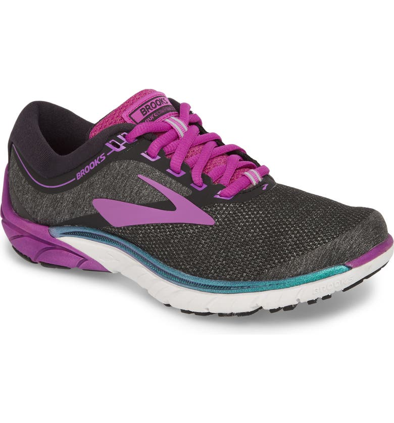 BROOKS PureCadence 7 Road Running Shoe, Main, color, 001