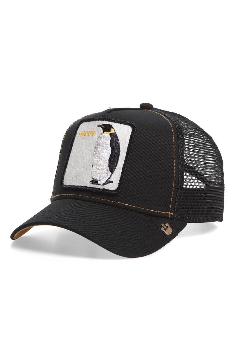 GOORIN BROS. Penguin Trucker Hat, Main, color, 001