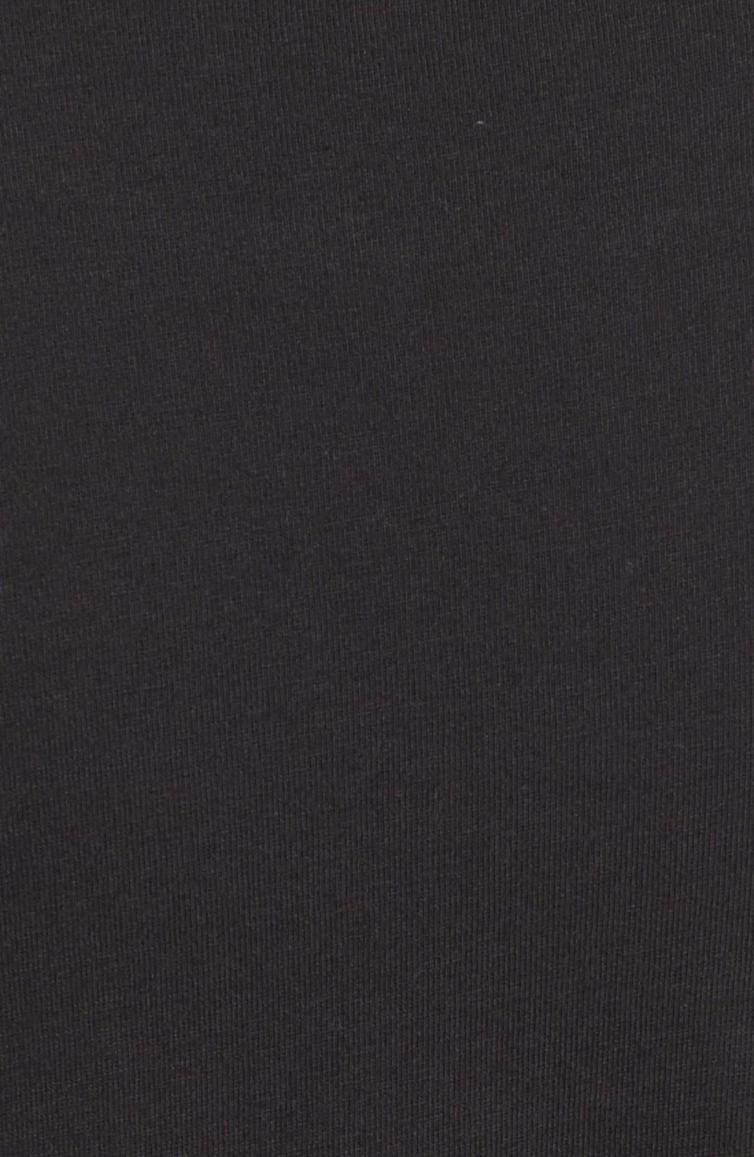 ,                             Blouson Body-Con Dress,                             Alternate thumbnail 3, color,                             001