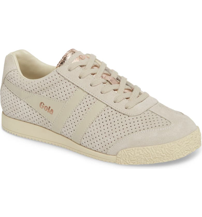 GOLA Harrier Glimmer Suede Low Top Sneaker, Main, color, 050
