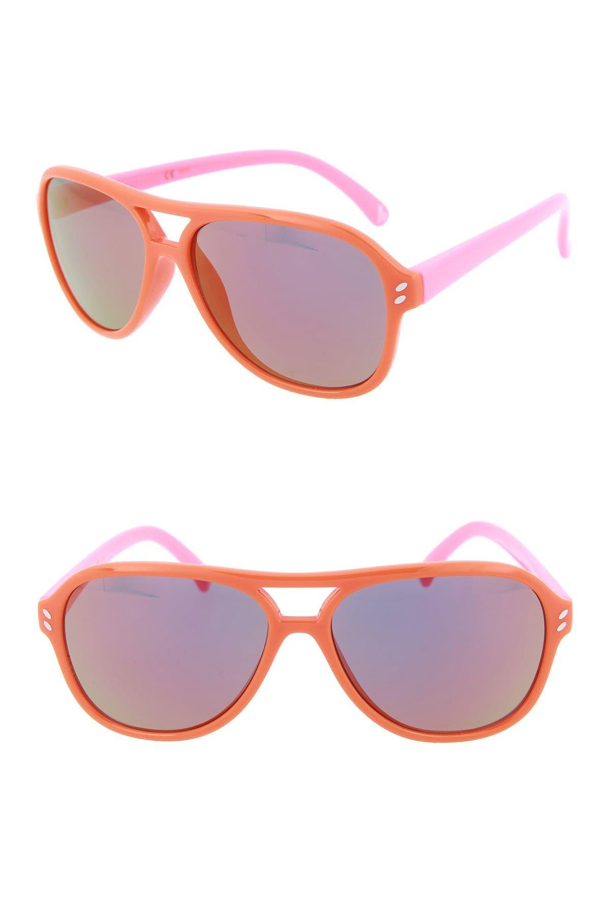 Image of Stella McCartney 48mm Aviator Sunglasses