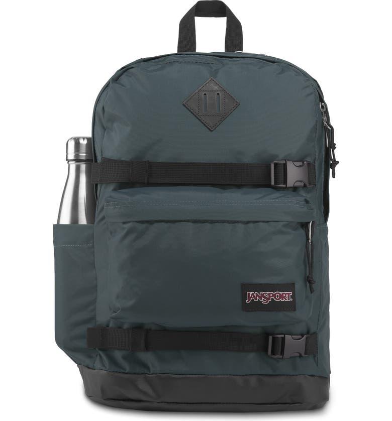 JANSPORT West Break Backpack, Main, color, DARK SLATE