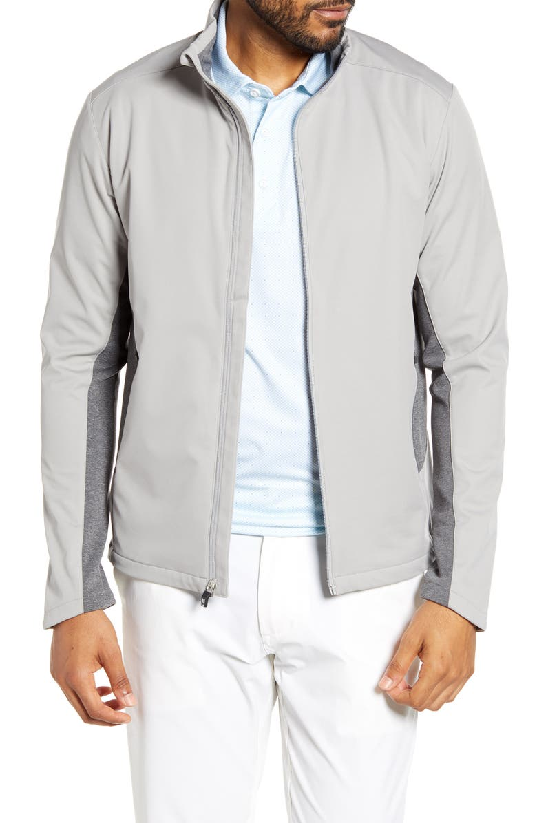 CUTTER & BUCK Navigate Soft Shell Jacket, Main, color, POLISHED