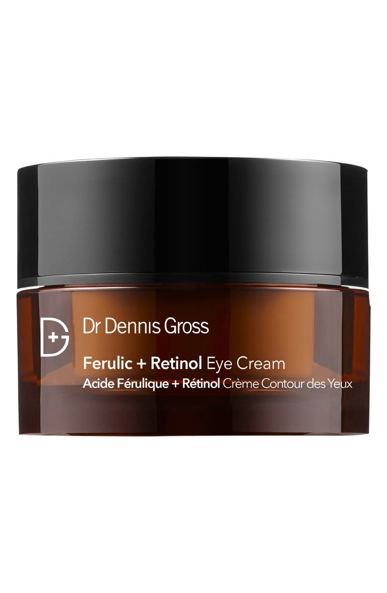 DR. DENNIS GROSS Skincare Ferulic + Retinol Anti-Aging Eye Cream, Main, color, NO COLOR