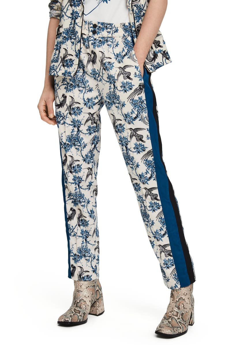 SCOTCH & SODA Contrast Tapered Joggers, Main, color, 67-COMBO X