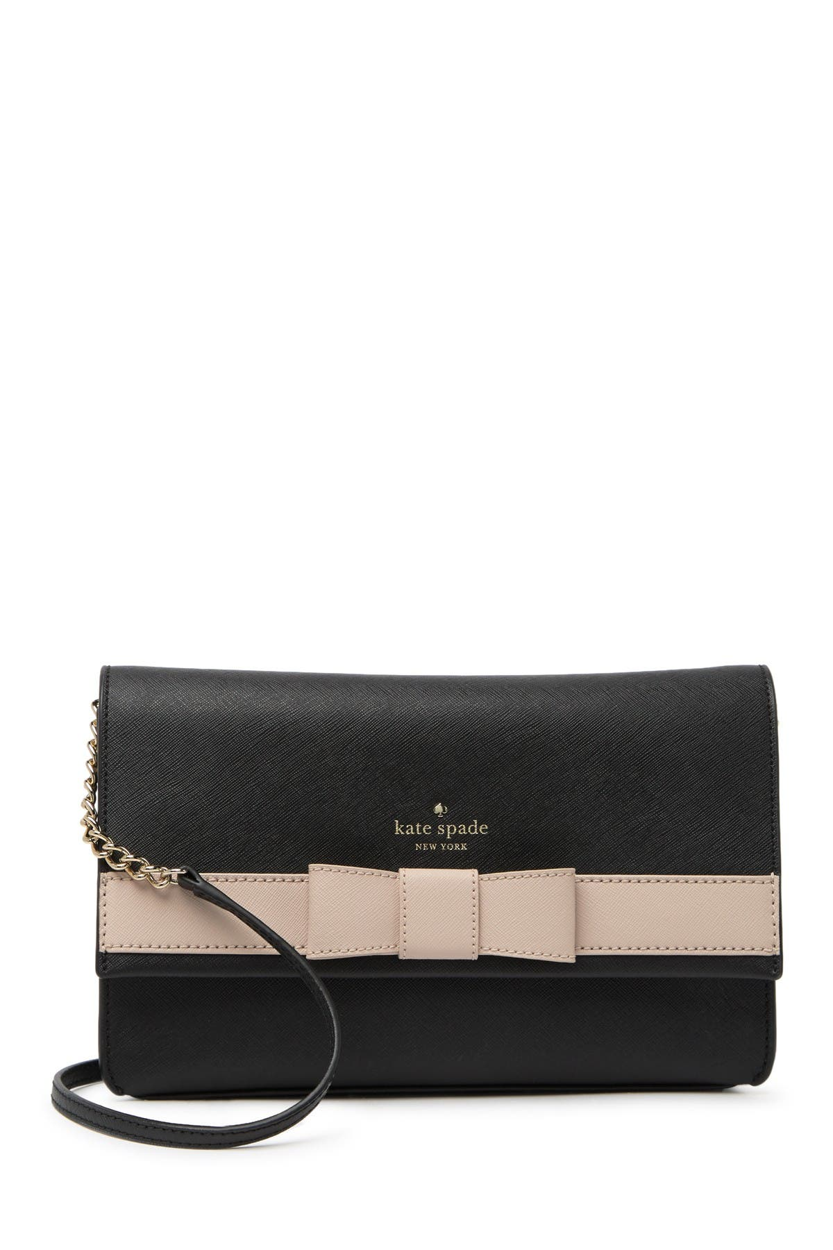 Image of kate spade new york leather veronique crossbody bag