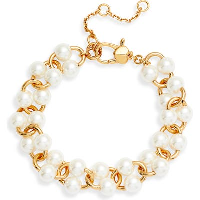 Kate Spade New York Nouveau Imitation Pearl Bracelet