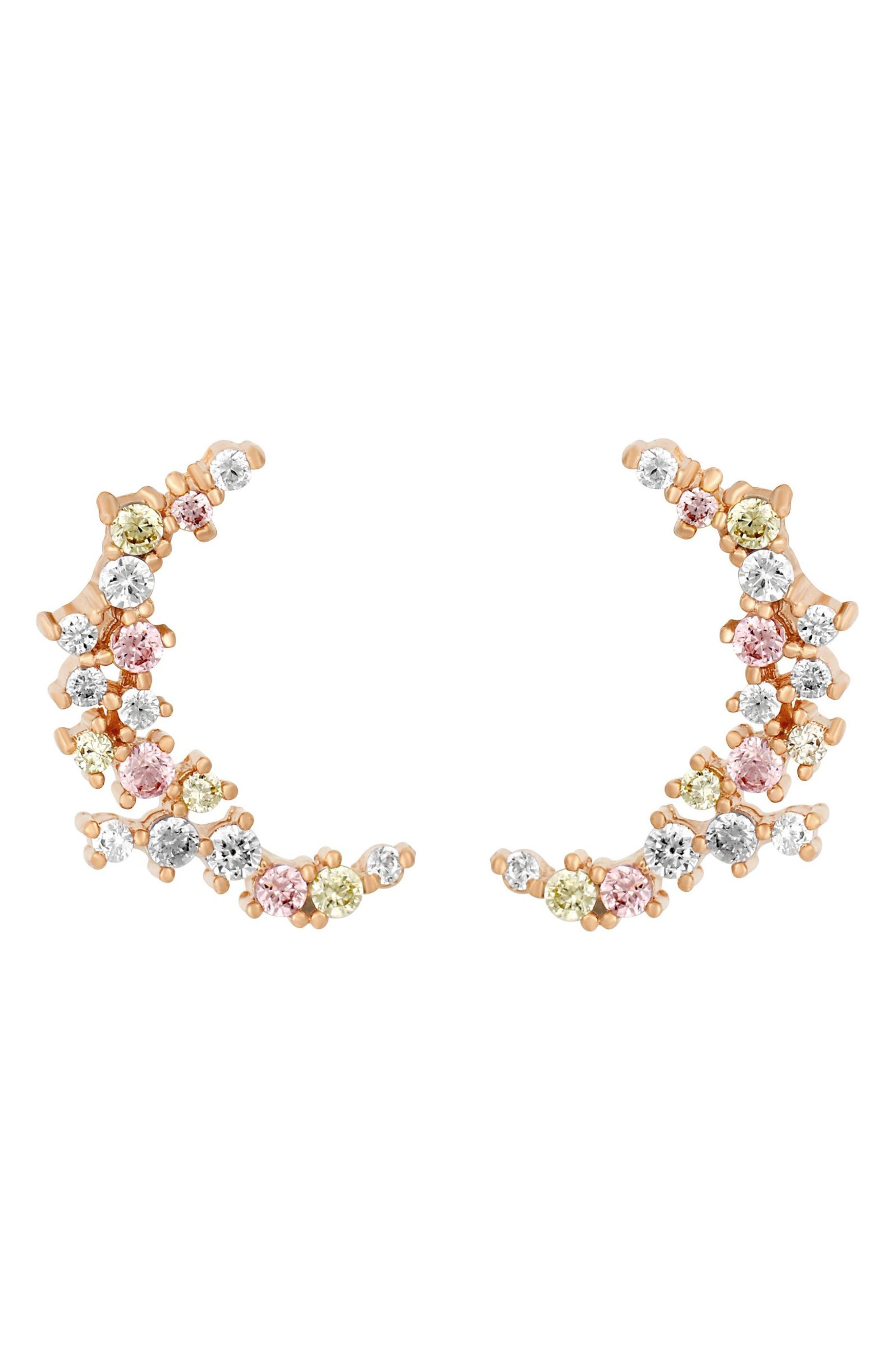 One & Only Moon Earrings