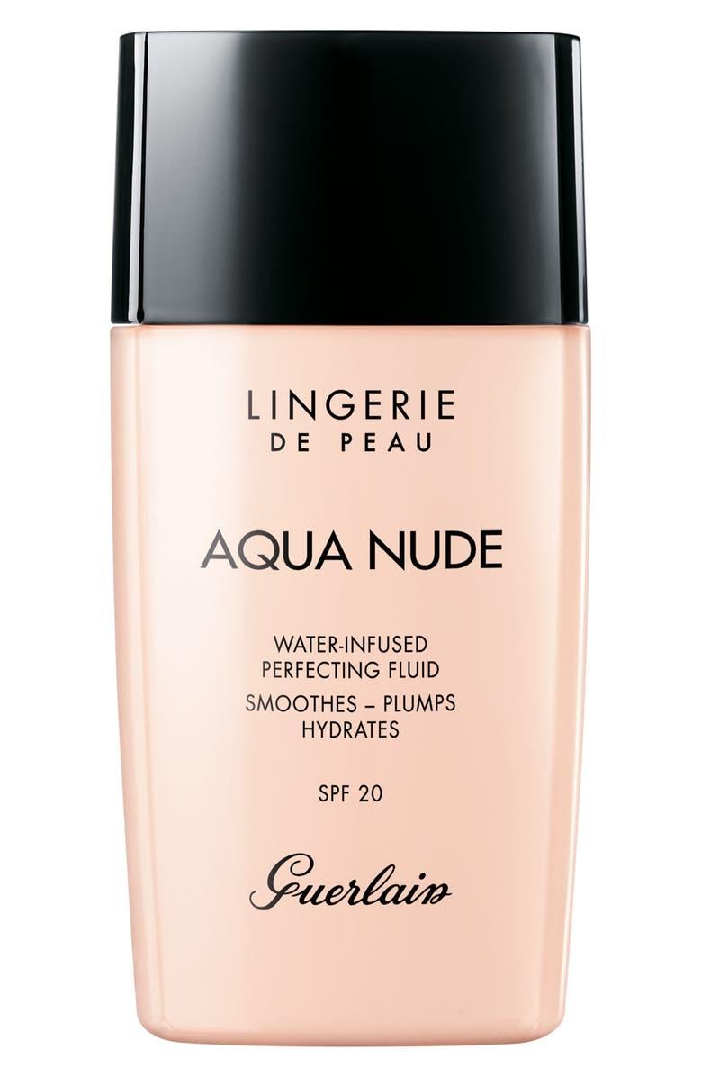GUERLAIN Lingerie de Peau Aqua Nude Foundation, Main, color, 02C LIGHT COOL