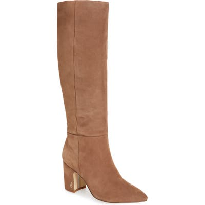 Sam Edelman Hiltin Knee High Boot, Beige