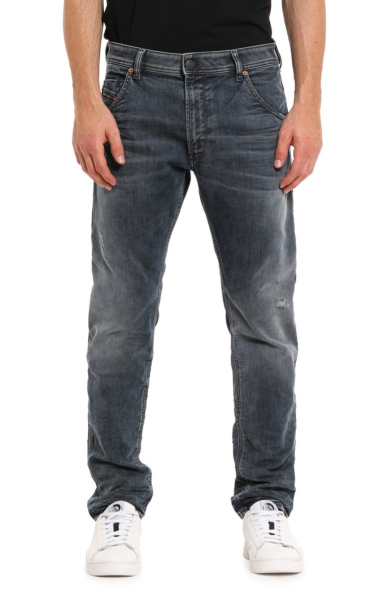 DIESEL<SUP>®</SUP> Krooley Jogg Slouchy Tapered Jeans, Main, color, 0870W