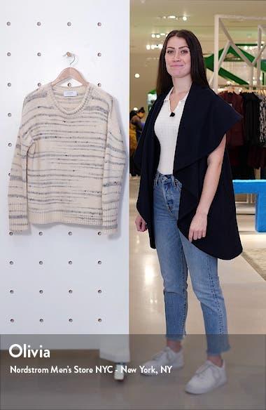 Organic Stripe Sweater, sales video thumbnail