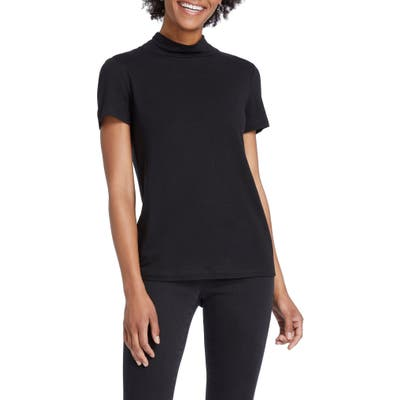 Nic+Zoe Mock Up Top, Black
