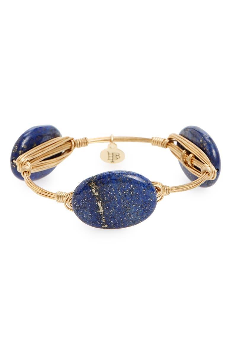 BOURBON AND BOWETIES Stone Bracelet, Main, color, 400