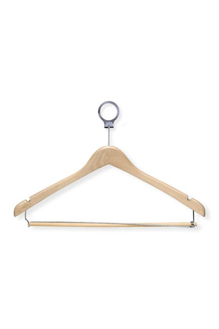Image of Honey-Can-Do 24-Pack Maple Hotel Hangers