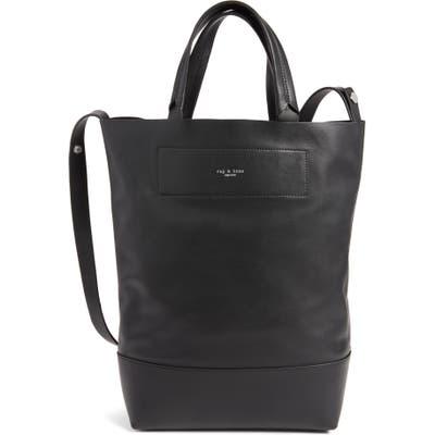 Rag & Bone Walker Convertible Leather Tote - Black