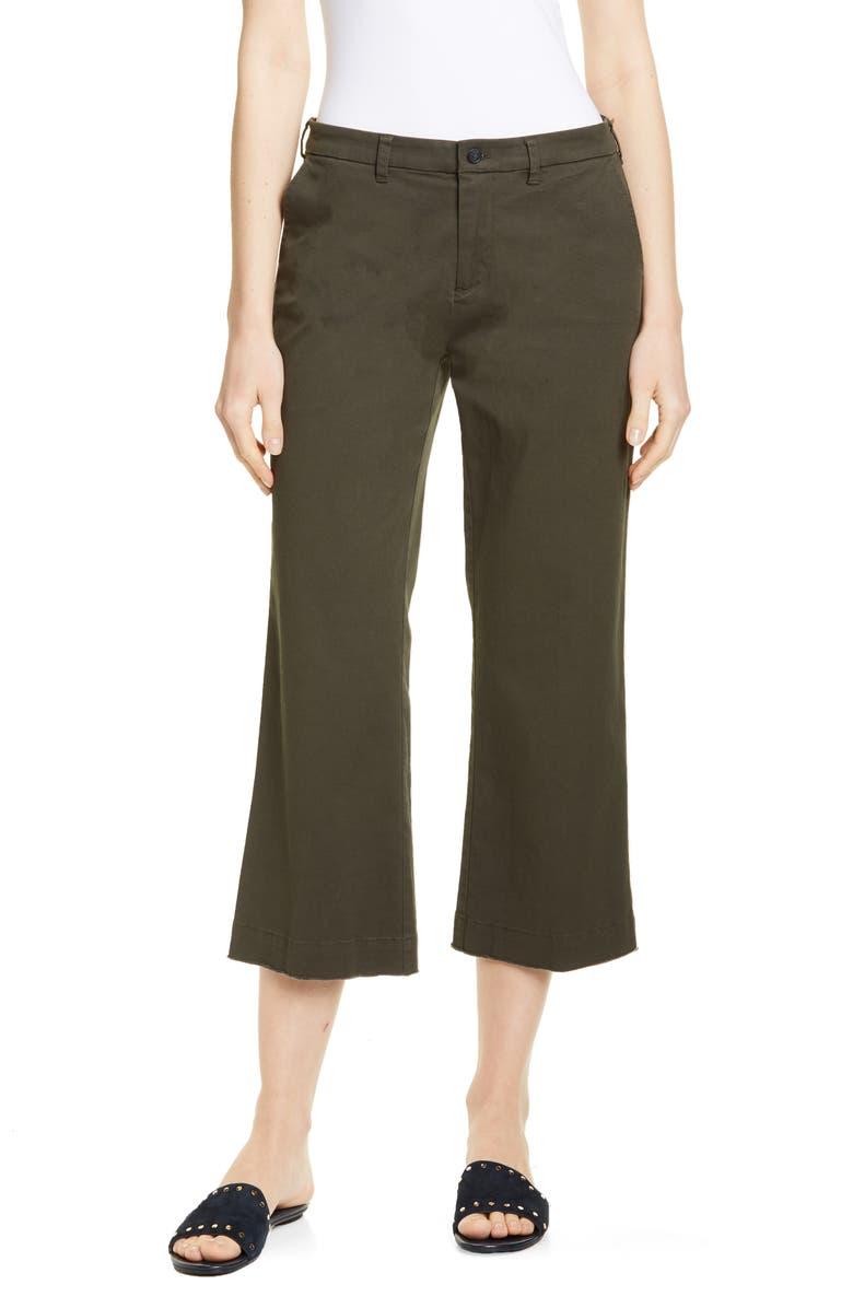 ATM ANTHONY THOMAS MELILLO Enzyme Wash Crop Boyfriend Pants, Main, color, JUNGLE