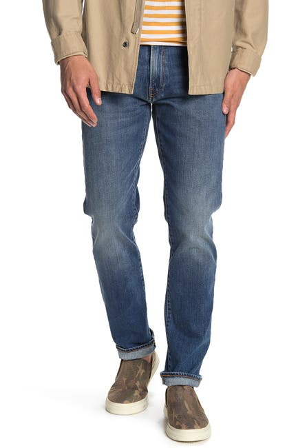 "Image of Lucky Brand 121 Slim Straight Jeans - 30-34"" Inseam"