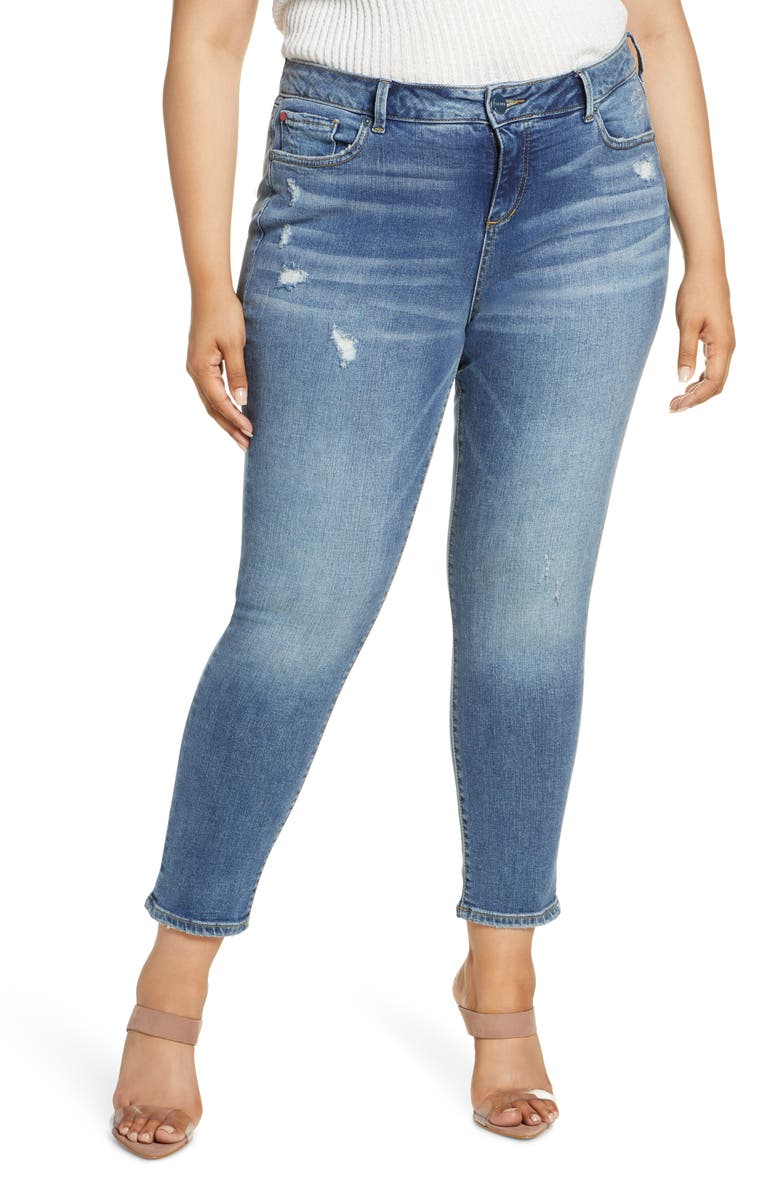 SLINK JEANS High Waist Ankle Jeans, Main, color, JESSICA