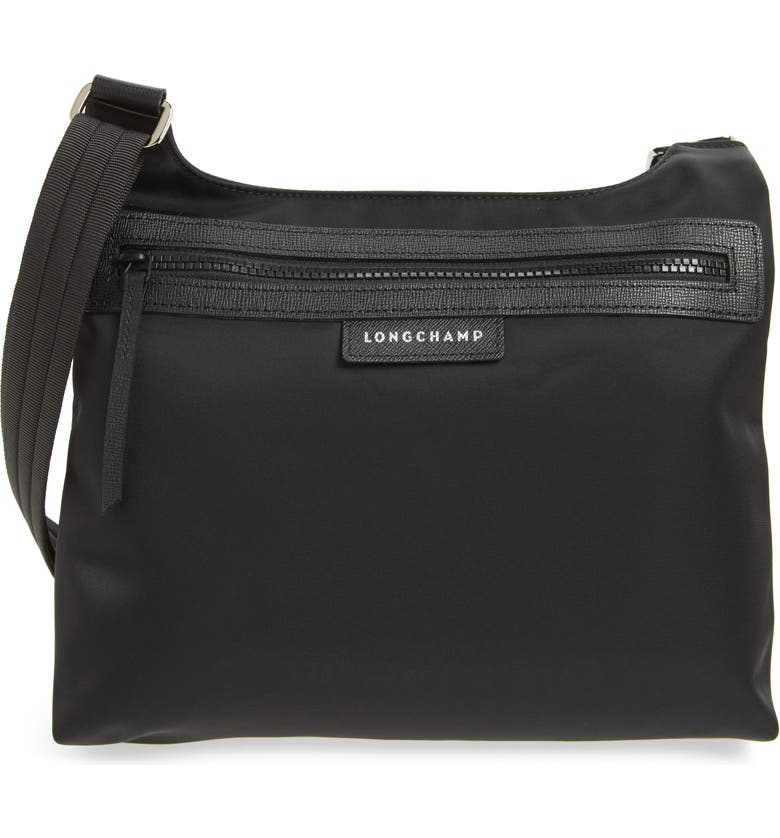 LONGCHAMP 'Le Pliage Neo' Nylon Crossbody Bag, Main, color, BLACK