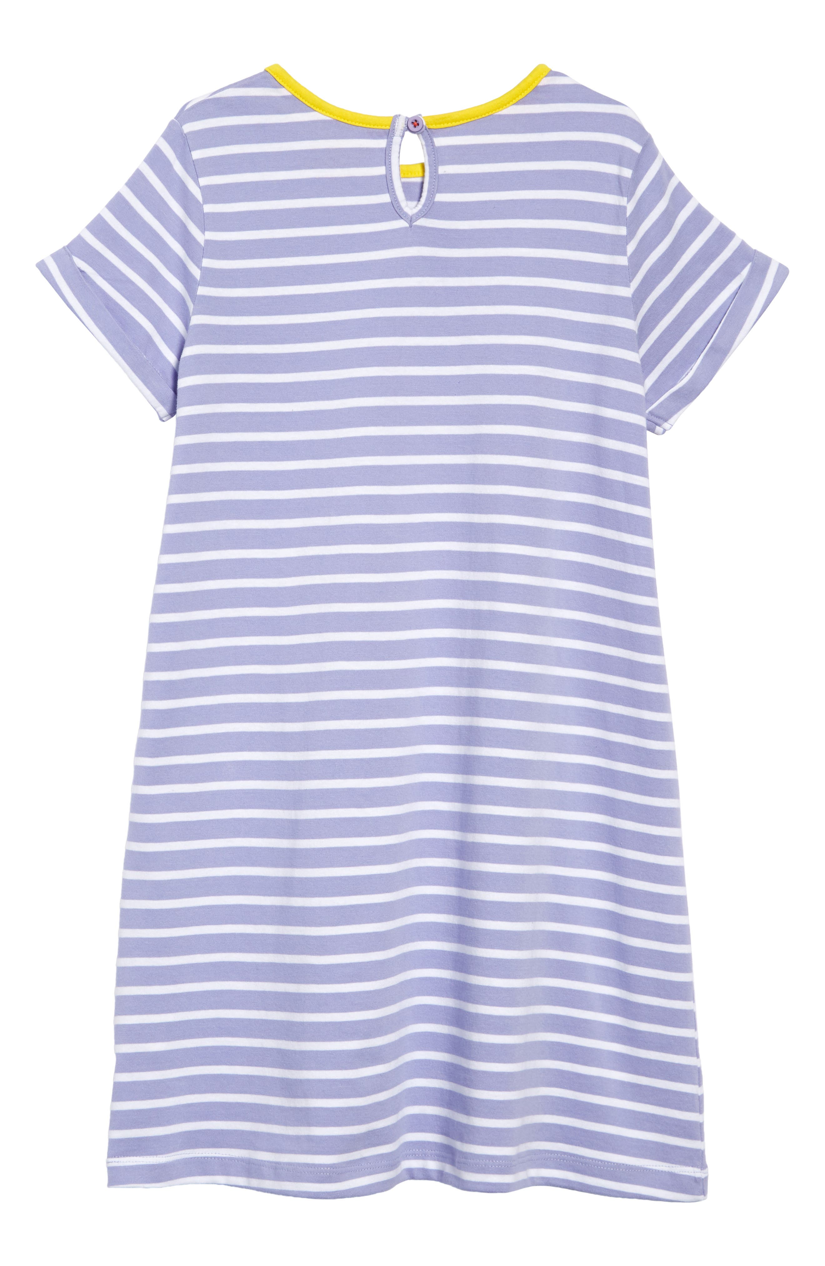 ,                             Safari Friend Appliqué Dress,                             Alternate thumbnail 2, color,                             PARMA VIOLET STRIPE/ GIRAFFE