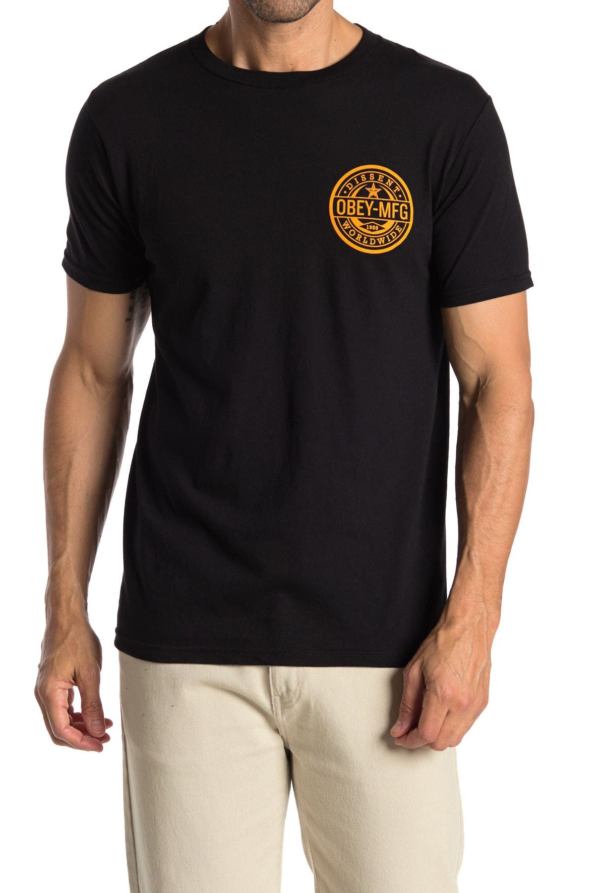 Image of Obey Worldwide Dissent Tee