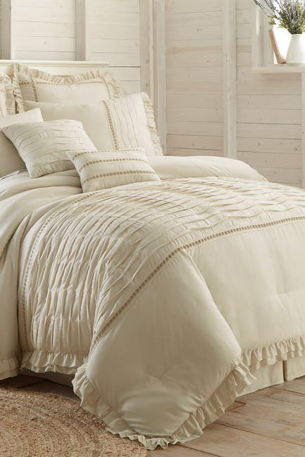 Image of Modern Threads King Antonella Comforter Set - Champagne