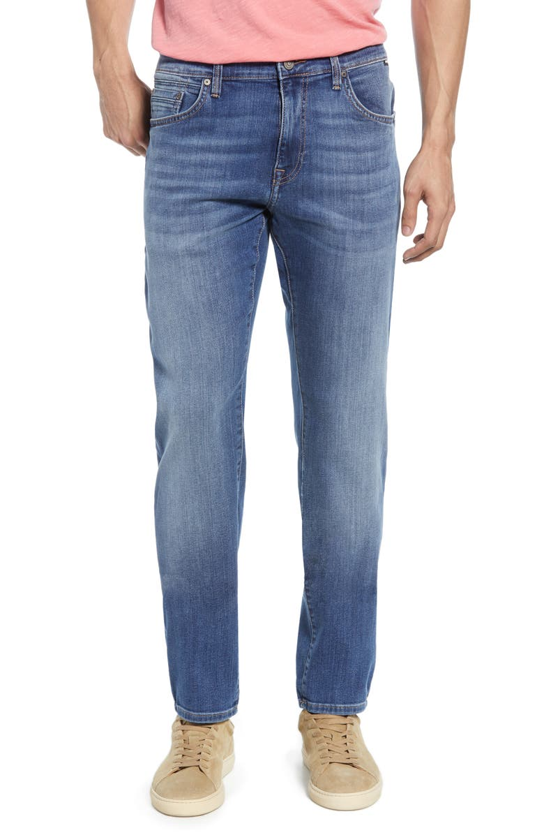 MAVI JEANS Jake Slim Fit Jeans, Main, color, MID FOGGY WILLIAMSBURG