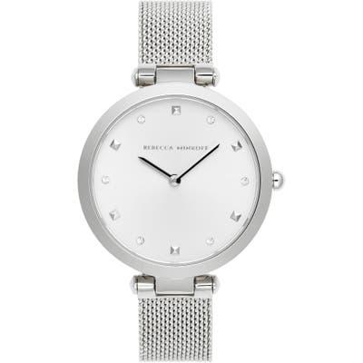 Rebecca Minkoff Nina Mesh Strap Watch, 3m