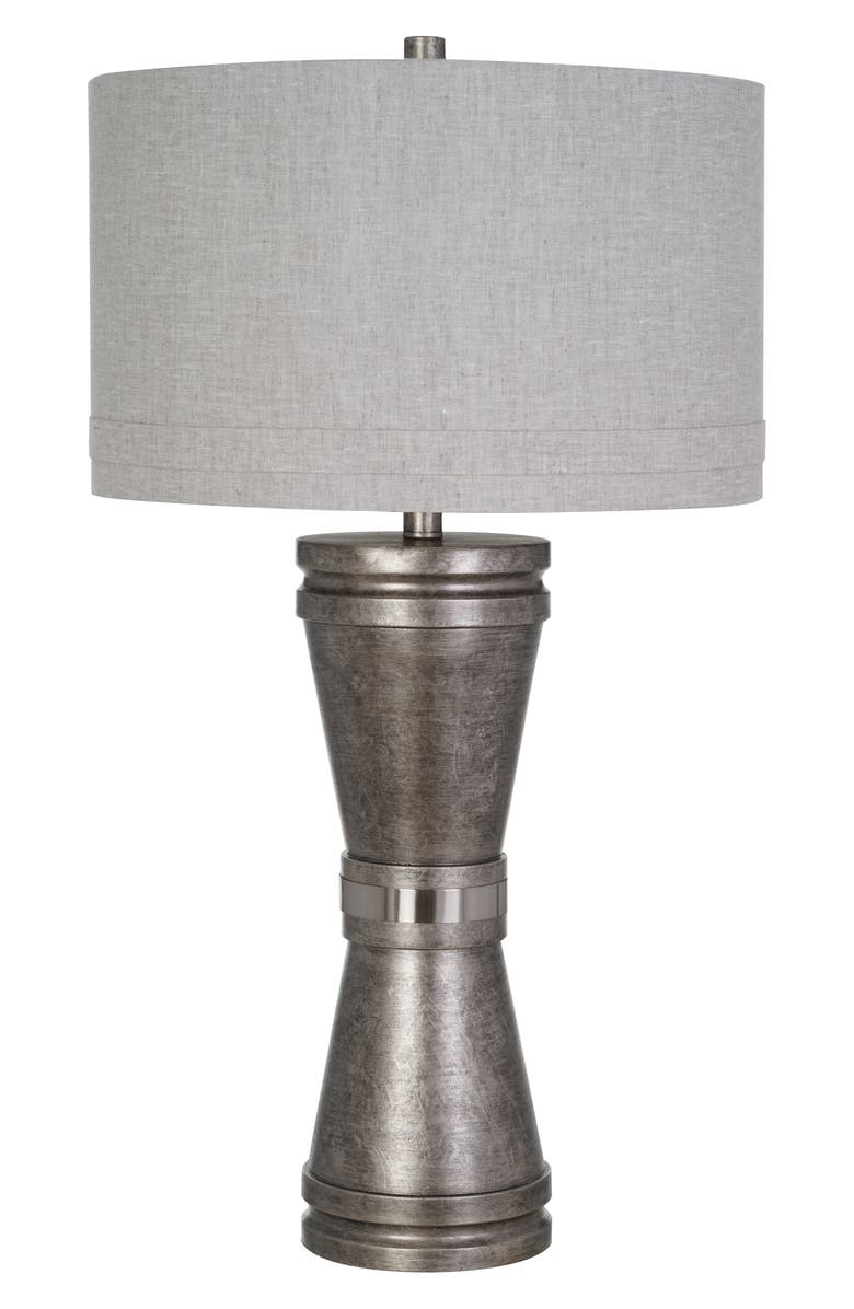 JALEXANDER LIGHTING Walden Table Lamp, Main, color, PEWTER