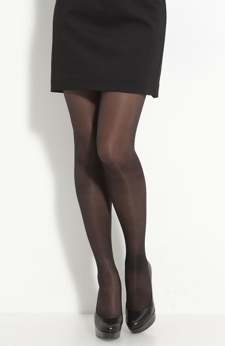 961a08ebedeee Repos 70 Control Top Pantyhose, Main, color, BLACK