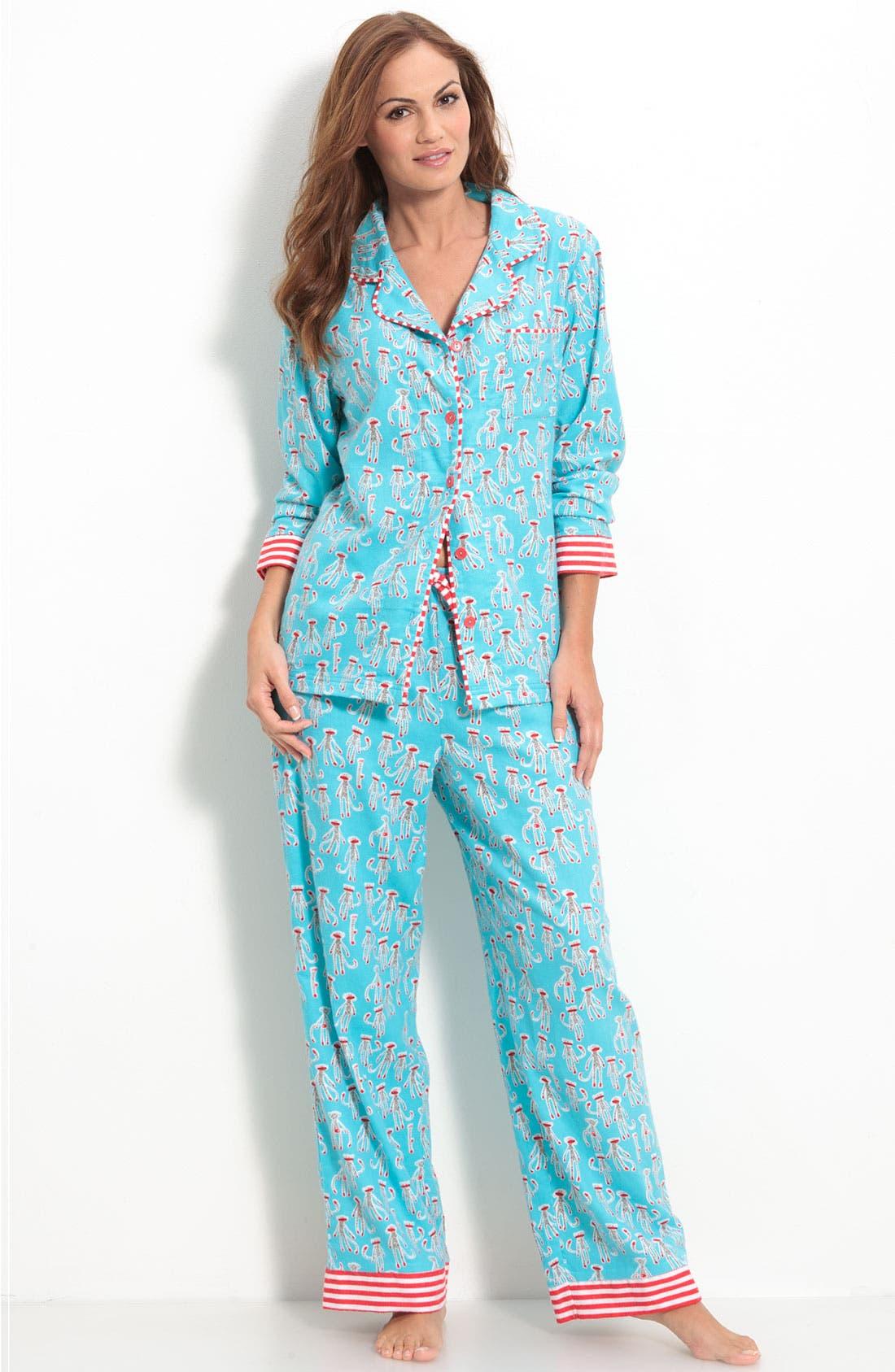 ,                             Flannel Pajamas,                             Main thumbnail 29, color,                             440