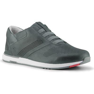 Kizik Boston Hands-Free Slip-On Sneaker- Grey