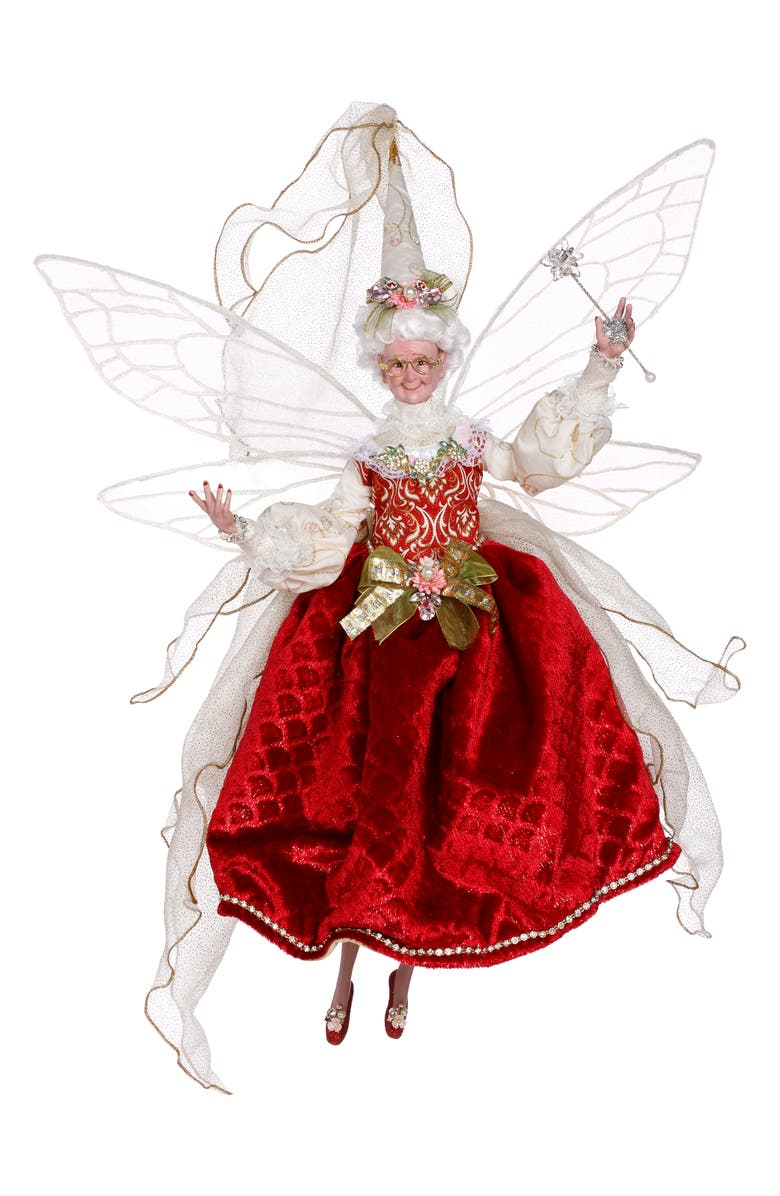 MARK ROBERTS Fairy Godmother, Main, color, RED MULTI