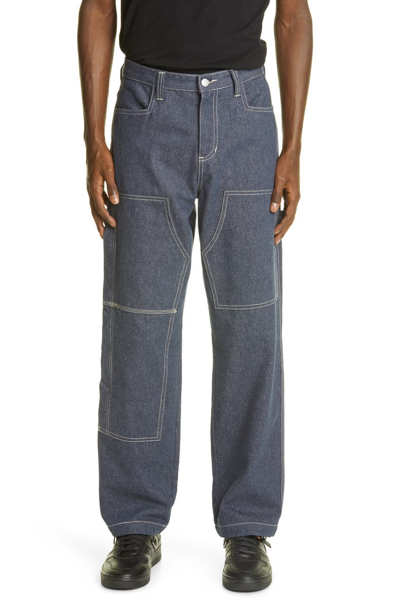 1017 ALYX 9SM x Stüssy Carpenter Jeans, Main, color, 400