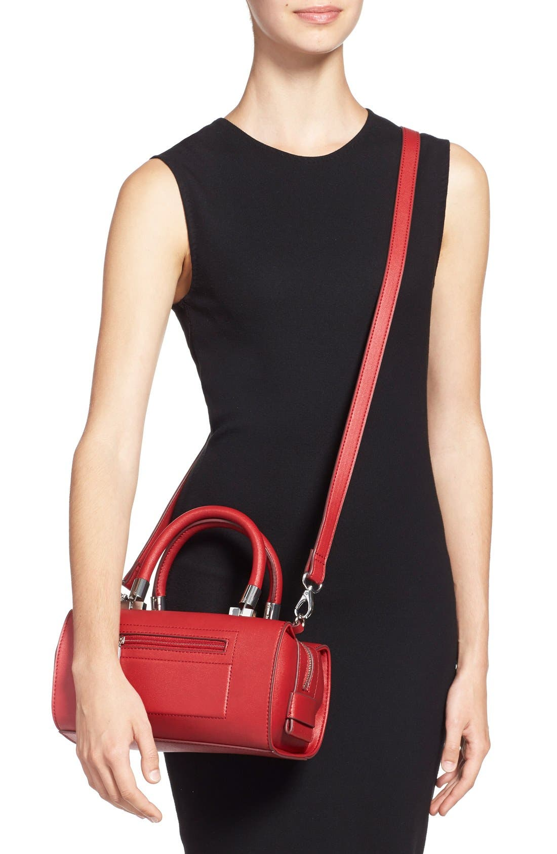 ,                             'Whitney' Faux Leather Crossbody Bag,                             Alternate thumbnail 12, color,                             600