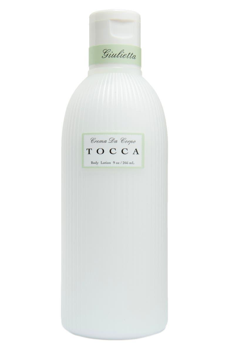 TOCCA Giulietta Body Lotion, Main, color, NO COLOR