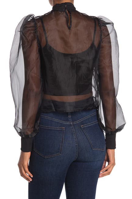 Image of Know One Cares Organza Top