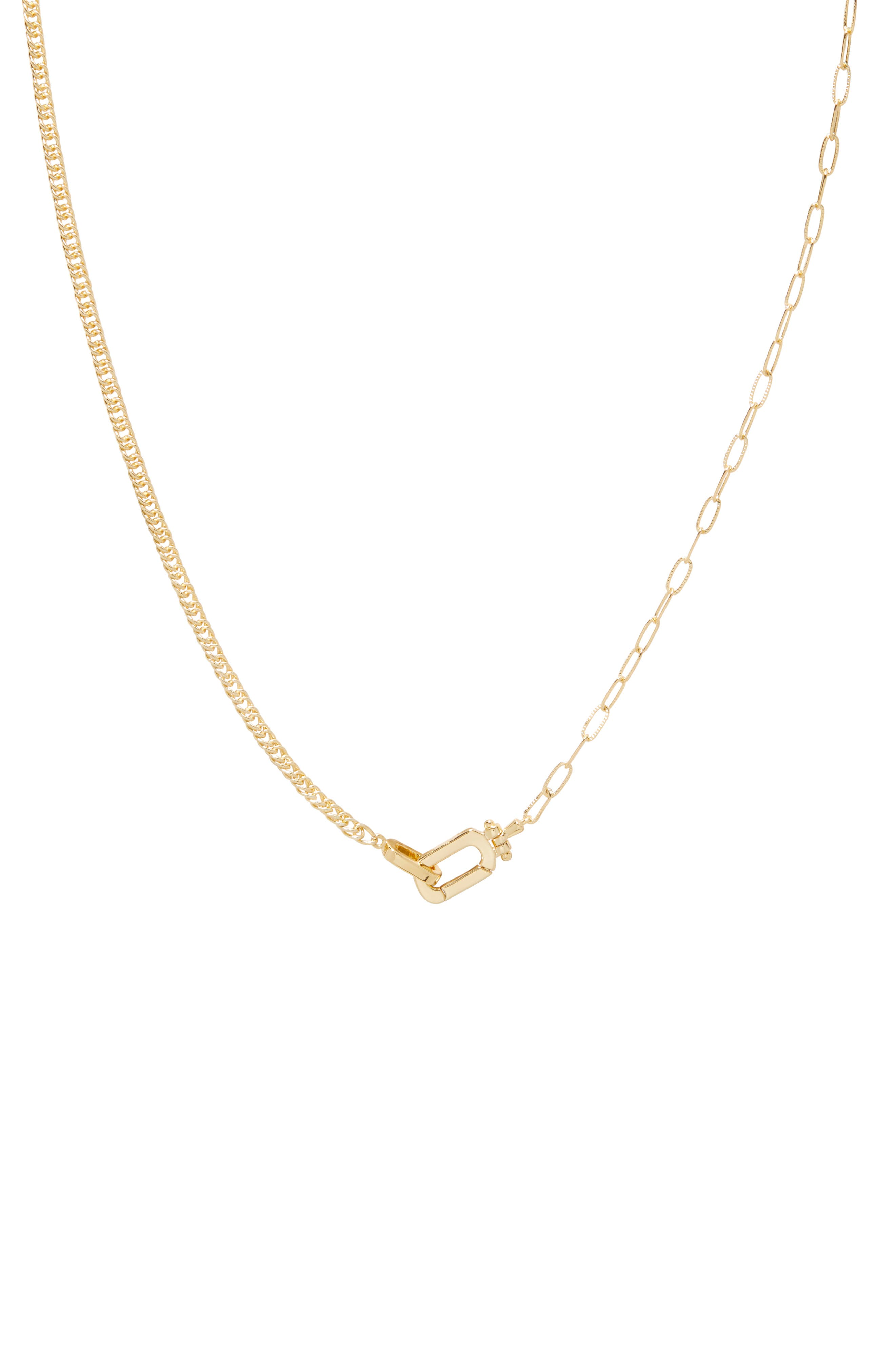 Dylan Chain Link Necklace