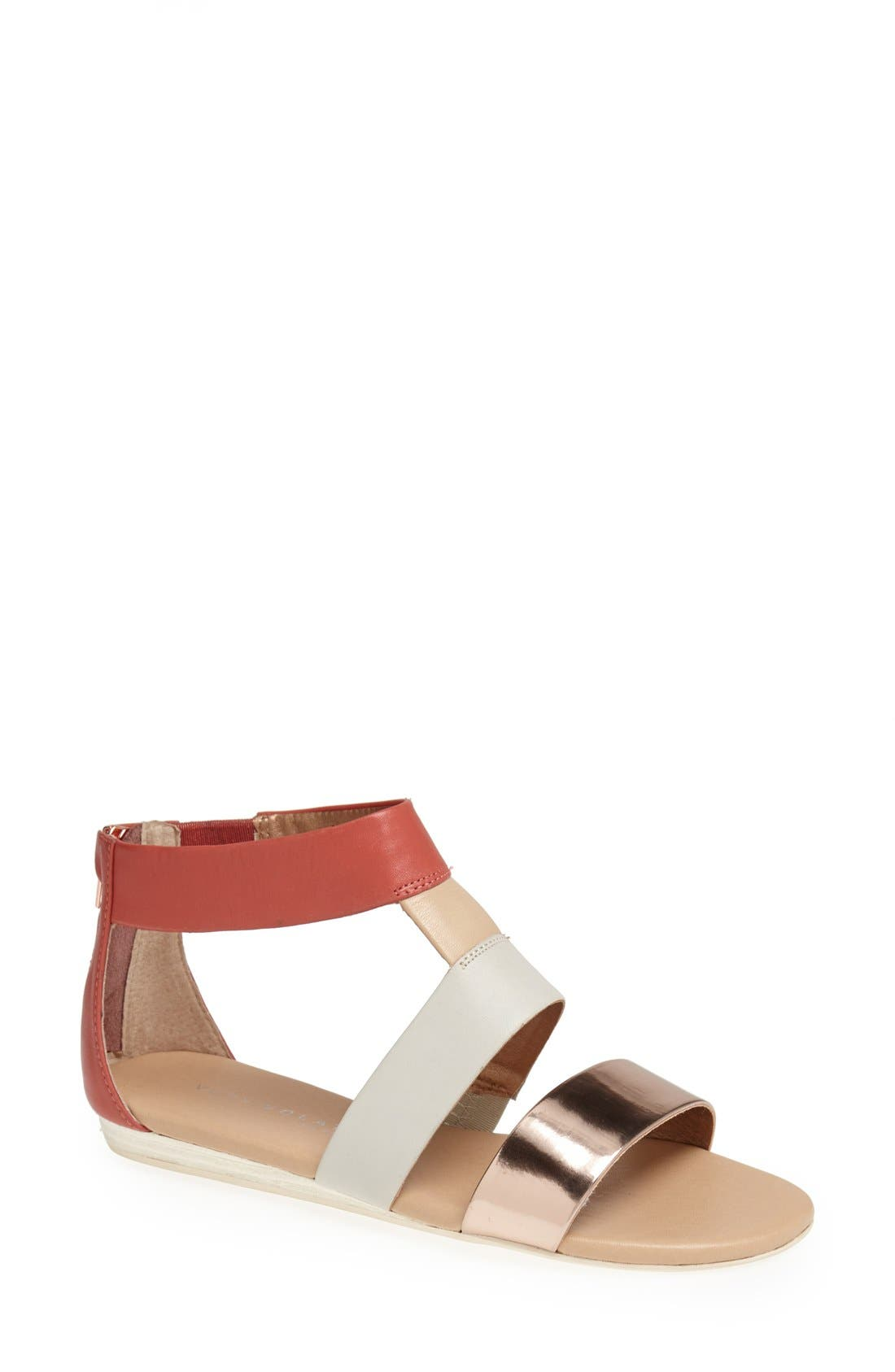 ,                             'Collective' Leather Sandal,                             Main thumbnail 9, color,                             950