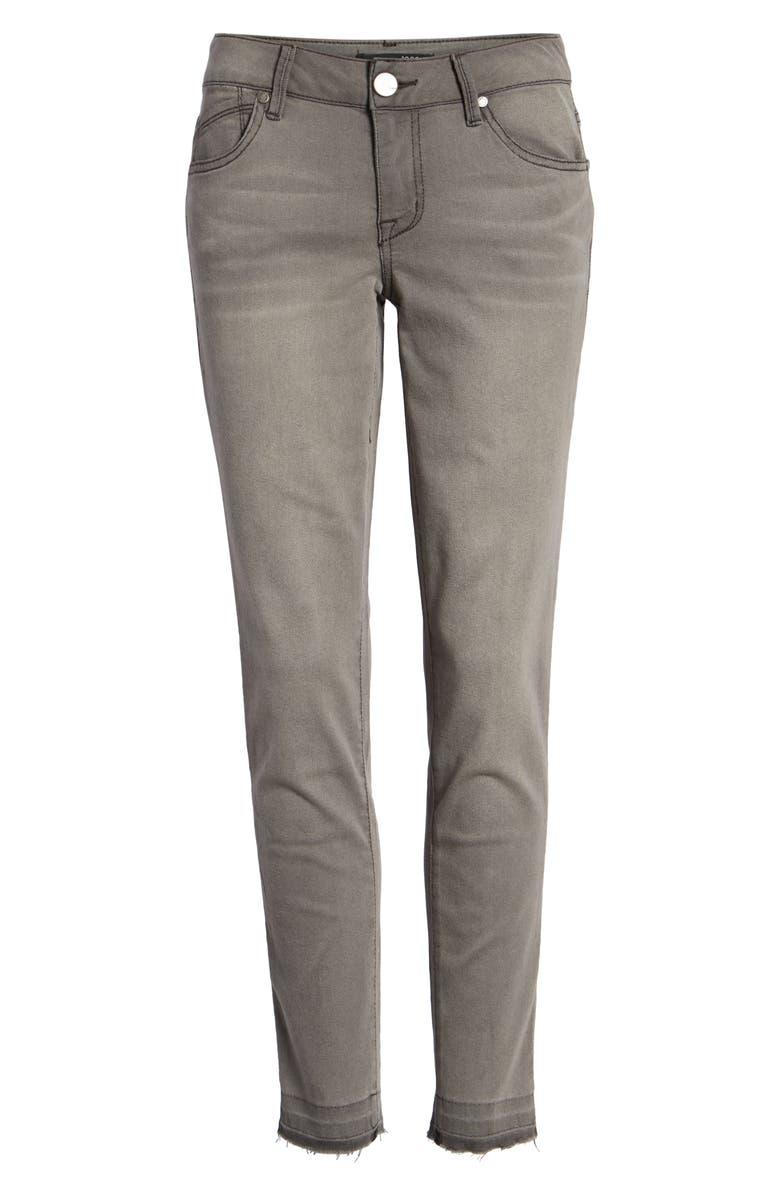1822 DENIM Raw Hem Crop Skinny Jeans, Main, color, 023