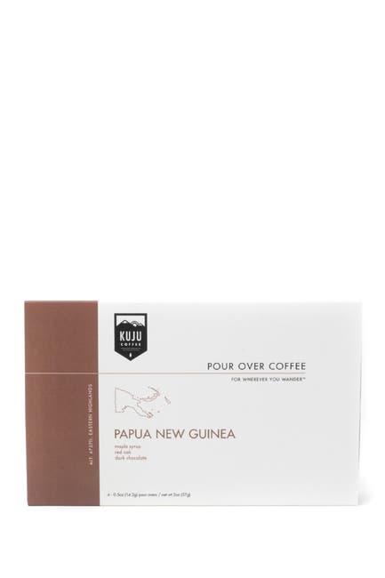 Image of KUJU COFFEE Papua New Guinea Coffee Gift Set