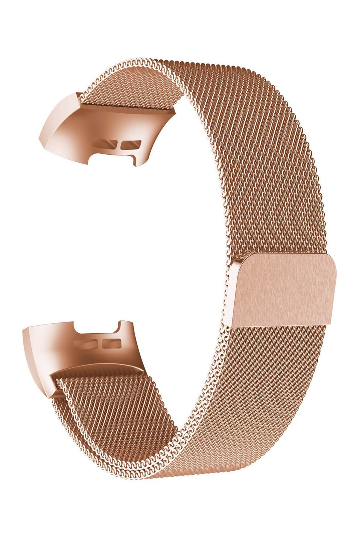 Image of POSH TECH Small Stainless Steel Band for Fitbit Charge 3 - Rose Gold