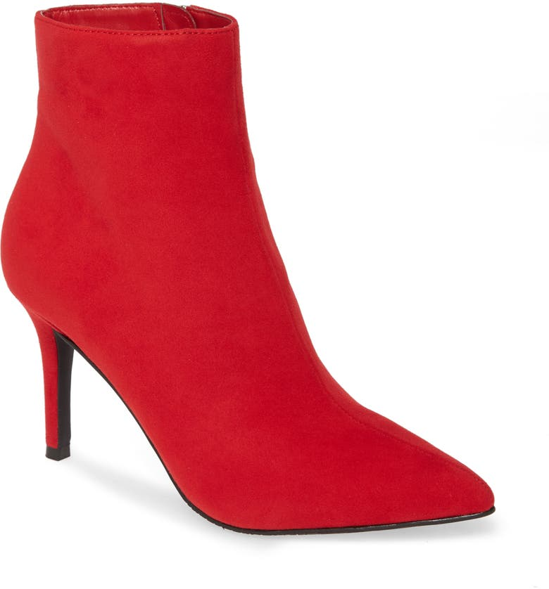 BP. Maisie Bootie, Main, color, RED FAUX SUEDE