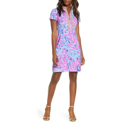 Lilly Pulitzer Adrena Stretch A-Line Dress, Pink