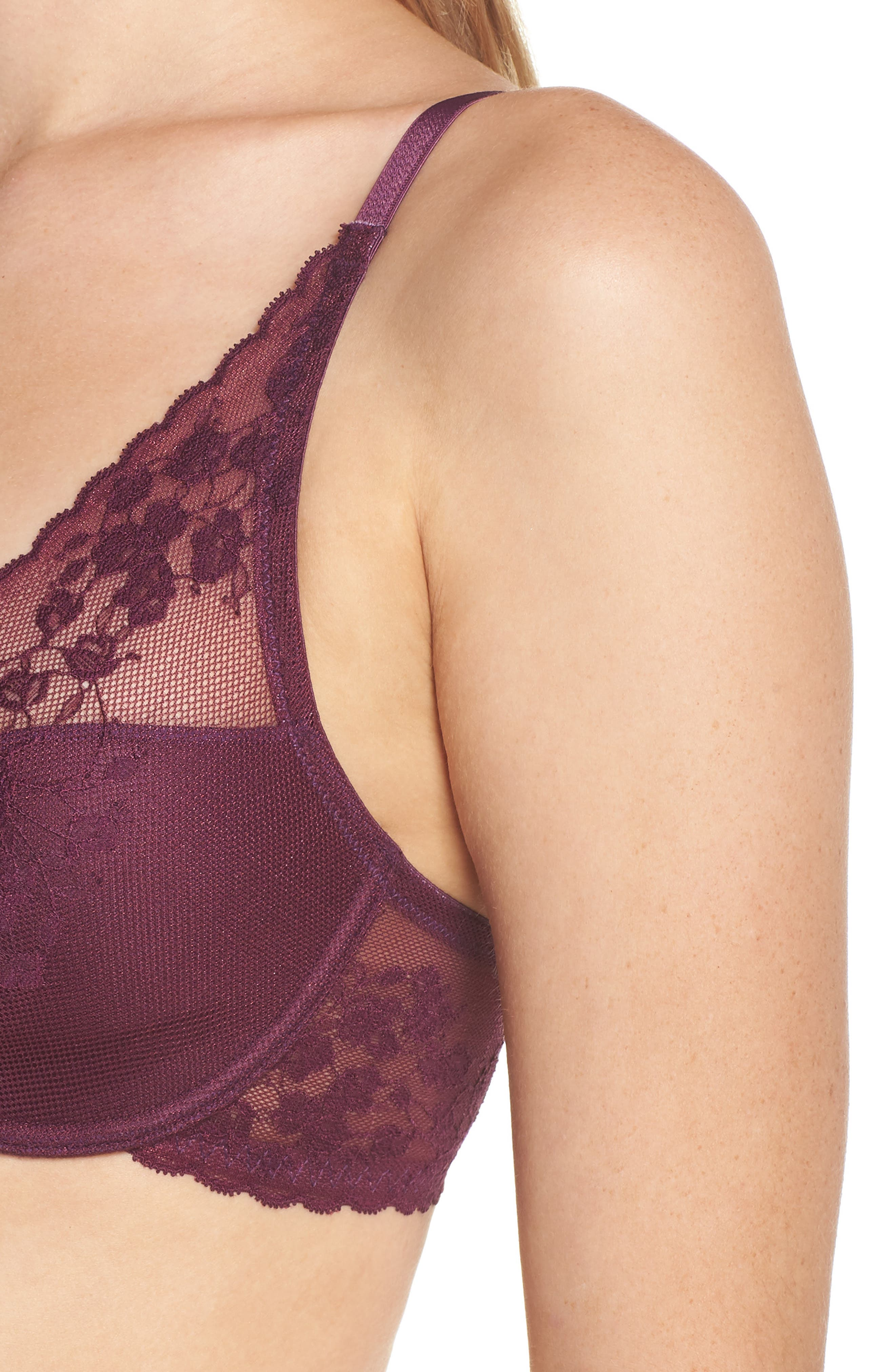 ,                             Cherry Blossom Convertible Underwire Bra,                             Alternate thumbnail 59, color,                             581