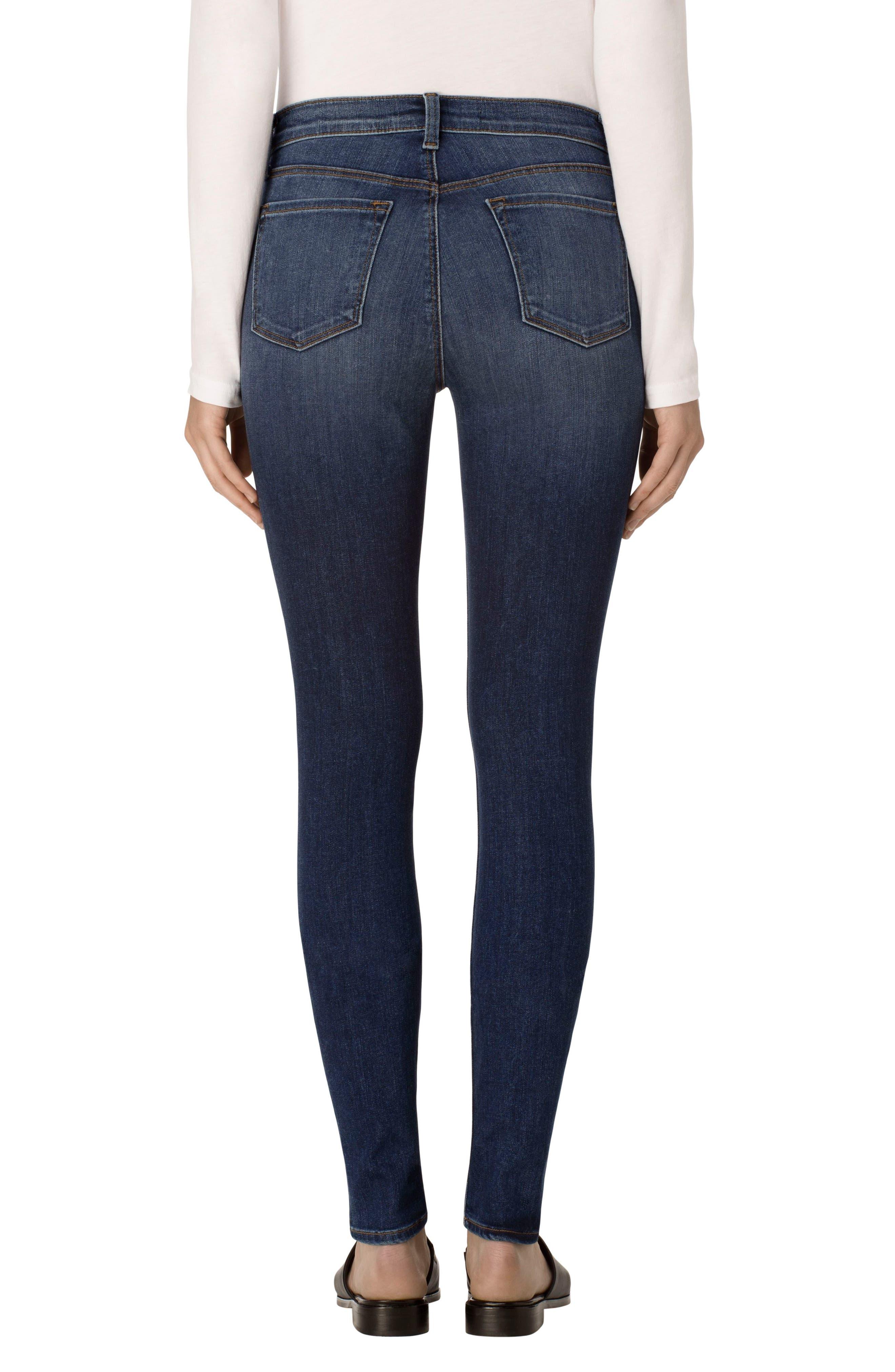 ,                             '620' Mid Rise Super Skinny Jeans,                             Alternate thumbnail 5, color,                             423
