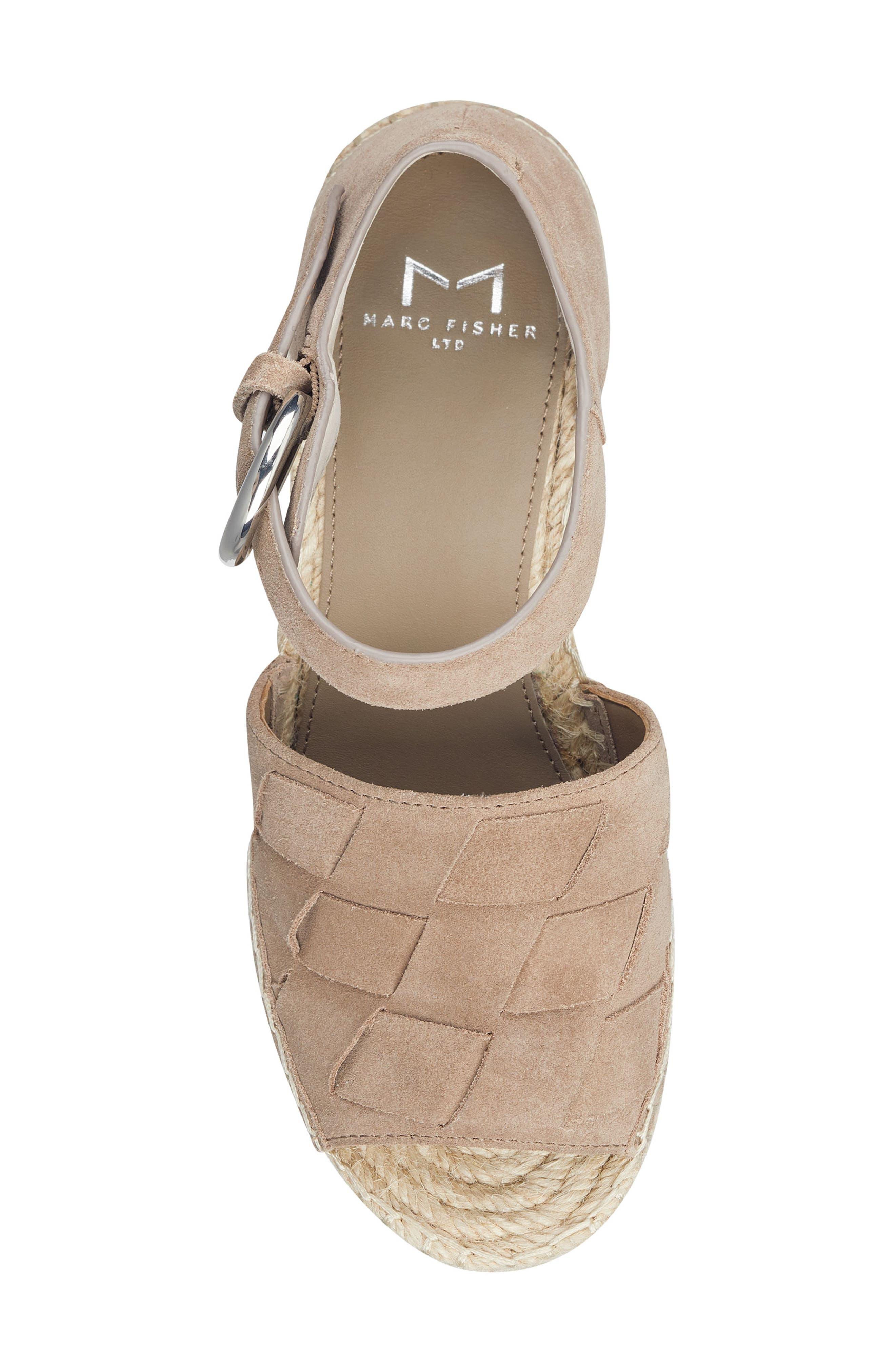 ,                             Adalla Platform Wedge Sandal,                             Alternate thumbnail 5, color,                             250